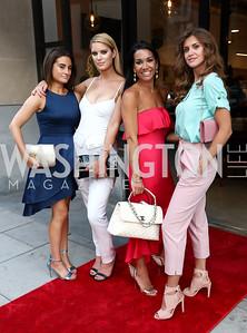 Kristen Edmond, Dana Nebinski, Bethany Kazaba, Anastasia Vakula. Photo by Tony Powell. Sushi Gayku Opening. June 26, 2017