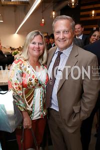 Renee and Tony Burchard. Photo by Tony Powell. Sushi Gayku Opening. June 26, 2017
