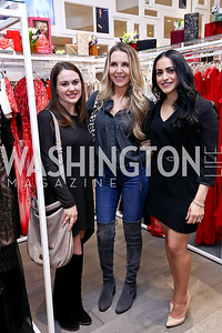 Carey McLaughlin, Diana Kim, Katarina Baiano. Photo by Tony Powell. Tadashi Shoji Washington Life Event. March 30, 2017