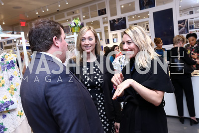 John Arundel, Kaarta Maron, Heather Shaw Menis. Photo by Tony Powell. Tadashi Shoji Washington Life Event. March 30, 2017