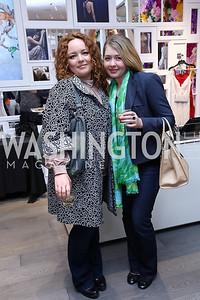 Valentina Gretsova, Tatiana Weinberg. Photo by Tony Powell. Tadashi Shoji Washington Life Event. March 30, 2017