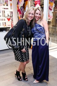 Kaarta Maron, Heather Shaw Menis. Photo by Tony Powell. Tadashi Shoji Washington Life Event. March 30, 2017