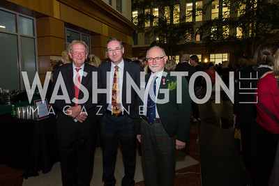 John Scales, Andrew Whelan, Neil Powrie Taste of Scotland - Campagna Center Donor Reception December 1, 2017 Photo by Naku Mayo