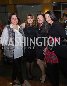 Bethany Latham, Katelin Moomau Briney, Suzanne Carlough, Leslie Edwards Taste of Scotland - Campagna Center Donor Reception December 1, 2017 Photo by Naku Mayo