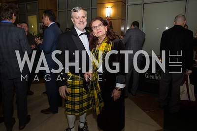 John Macleod, Lynn Hartle Taste of Scotland - Campagna Center Donor Reception December 1, 2017 Photo by Naku Mayo