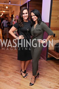 Anais Carmona, Michelle Persaud. Photo by Tony Powell. The Hill's 50 Most Beautiful. WeWork White House. July 26, 2017