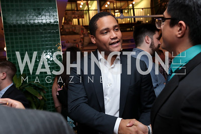 Listmember Austin Rodriquez. Photo by Tony Powell. The Hill's 50 Most Beautiful. WeWork White House. July 26, 2017