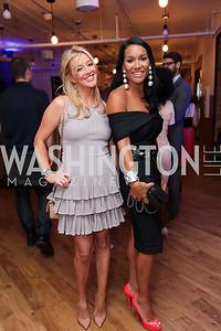 Jayne Visser, Bethany Kazaba. Photo by Tony Powell. The Hill's 50 Most Beautiful. WeWork White House. July 26, 2017
