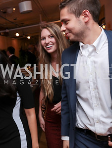 Courtney Webb, Anthony Cruz. Photo by Tony Powell. The Hill's 50 Most Beautiful. WeWork White House. July 26, 2017