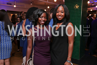 List Member Zoe Cadore, Deloris Wilson. Photo by Tony Powell. The Hill's 50 Most Beautiful. WeWork White House. July 26, 2017