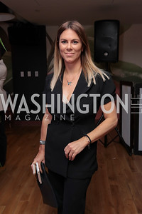 Listmember Kate Bennett. Photo by Tony Powell. The Hill's 50 Most Beautiful. WeWork White House. July 26, 2017