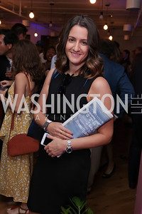 Meredith Fineman. Photo by Tony Powell. The Hill's 50 Most Beautiful. WeWork White House. July 26, 2017