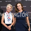 "Jane Harman, Diane Lane. Photo by Tony Powell. ""The Vietnam War"" Preview Screening. Kennedy Center. September 12, 2017"