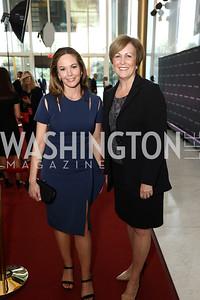 "Diane Lane, Deborah Rutter. Photo by Tony Powell. ""The Vietnam War"" Preview Screening. Kennedy Center. September 12, 2017"