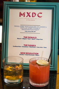 The Whiskey Ball Inauguration Party, at MXDC, January 20, 2017.  Photo by Ben Droz.