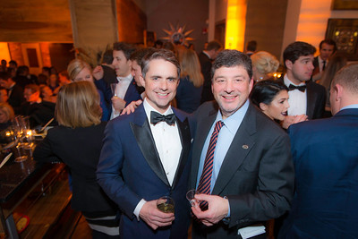 Ben Jenkins, Frank Coleman,  The Whiskey Ball Inauguration Party, at MXDC, January 20, 2017.  Photo by Ben Droz.