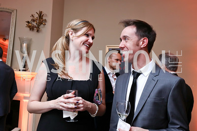 Abby Olson, John Philligin. Photo by Tony Powell. Thoughts of Camelot anyone? April 22, 2017