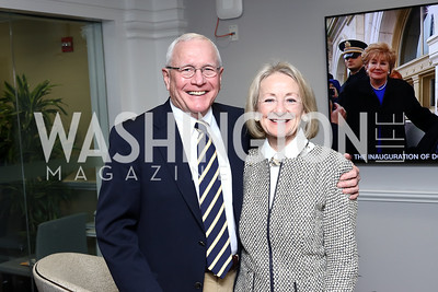 Pete and Ande Metzger. Photo by Tony Powell. TimeWarner Inaugural Brunch and Reception. January 20, 2017