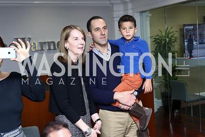 Carol Melton, David Grimaldi, William Grimaldi. Photo by Tony Powell. TimeWarner Inaugural Brunch and Reception. January 20, 2017