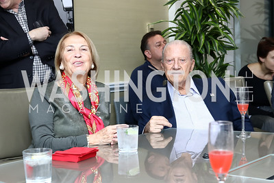 Mercedes and Giuseppe Cecchi. Photo by Tony Powell. TimeWarner Inaugural Brunch and Reception. January 20, 2017
