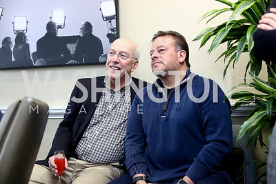 Kurt Newman, Raul Fernandez. Photo by Tony Powell. TimeWarner Inaugural Brunch and Reception. January 20, 2017