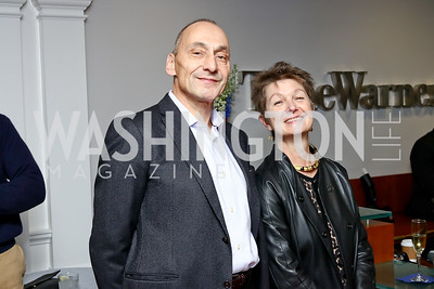 Thomas Krähenbühl and Dorothy Kosinski. Photo by Tony Powell. TimeWarner Inaugural Brunch and Reception. January 20, 2017