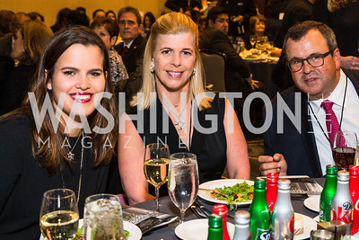 Ileana de la Cruz, Maria de la Cruz, Alberto de la Cruz   . Photo by Alfredo Flores. Tribute to Mayors Inaugural Unity Dinner. Hyatt Regency Capitol Hill. January 18, 2017