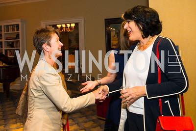 Dorothy Kosinski, Tammy Haddad, Photo by Alfredo Flores. Veep Screening. Motion Picture Association of America. April 13, 2017