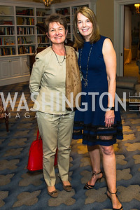Dorothy Kosinski, Carol Melton, Photo by Alfredo Flores. Veep Screening. Motion Picture Association of America. April 13, 2017