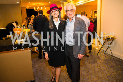 Lorraine Gallard, Richard Levy. Photo by Alfredo Flores. Veep Screening. Motion Picture Association of America. April 13, 2017