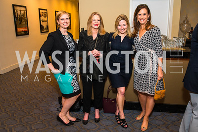Suzanne Struglinski, Janet Donovan, Emily Goodin, Betsy Fischer Martin. Photo by Alfredo Flores. Veep Screening. Motion Picture Association of America. April 13, 2017