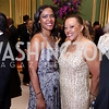 Laura and Marilyn Charity. Photo by Tony Powell. WPA 50th Anniversary Gala. Mellon Auditorium. March 11, 2017