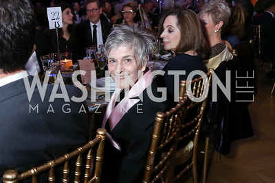 Co-Chair Susan Hepner. Photo by Tony Powell. WPA 50th Anniversary Gala. Mellon Auditorium. March 11, 2017
