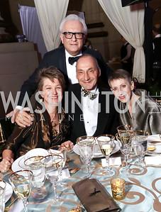 Dorothy Kosinski, Viken Poochikian, Thomas Krahenbuhl, Irene Roth. Photo by Tony Powell. WPA 50th Anniversary Gala. Mellon Auditorium. March 11, 2017