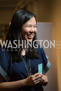 Monica Kang, Innovators Box, WeDC at SXSW Lauch at Carnegie Library, February 24, 2017.  Photo by Ben Droz