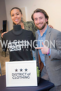 Dionna Dorsey, Mike Malloy,  WeDC at SXSW Lauch at Carnegie Library, February 24, 2017.  Photo by Ben Droz