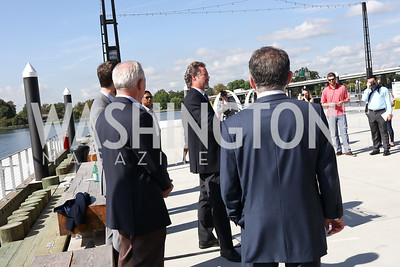 Entertainment Cruises CEO Kenneth Svendsen. Photo by Tony Powell. Wharf Water Taxi Preview. October 10, 2017
