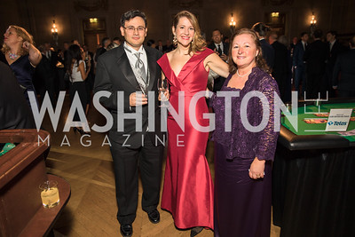 Munther Mushahwar , Amy Mushahwar., Sienna Crawford. Photo by Alfredo Flores. White Hat Gala. Andrew W. Mellon Auditorium. October 26, 2017.dng