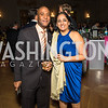 Oba McMillan, Vicki Panchal. Photo by Alfredo Flores. White Hat Gala. Andrew W. Mellon Auditorium. October 26, 2017.