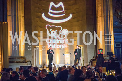 David Trout, Paul Innella. Photo by Alfredo Flores. White Hat Gala. Andrew W. Mellon Auditorium. October 26, 2017.