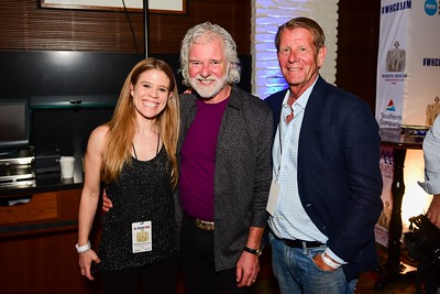 Betsy Babbit, Chuck Leavell, David Dunning. White House Correspondent's Jam.  Photo by Joy Asico. The Hamilton Live. April 28, 2017