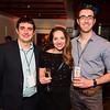 Mike Spector, Katy Stech, Adam Ferek. White House Correspondent's Jam.  Photo by Joy Asico. The Hamilton Live. April 28, 2017