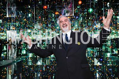 Smithsonian Undersecretary Richard Kurin. Photo by Tony Powell. Yayoi Kusama|Infinity Mirrors VIP Opening and Dinner. Hirshhorn Museum. February 22, 2017
