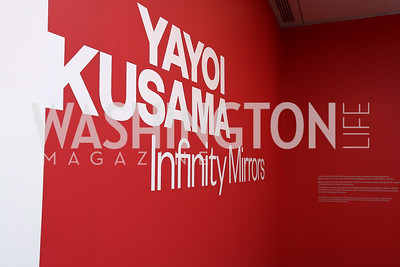 Photo by Tony Powell. Yayoi Kusama|Infinity Mirrors VIP Opening and Dinner. Hirshhorn Museum. February 22, 2017