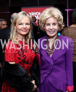 Monika McLennan, Ann Nitze. Photo by Tony Powell. Yayoi Kusama|Infinity Mirrors VIP Opening and Dinner. Hirshhorn Museum. February 22, 2017