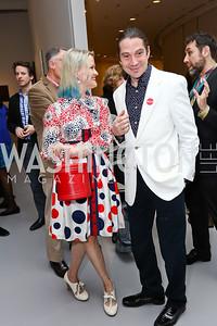 Dana and Tim Rooney. Photo by Tony Powell. Yayoi Kusama|Infinity Mirrors VIP Opening and Dinner. Hirshhorn Museum. February 22, 2017