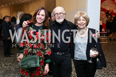 Carole Feld and David Levy, Bistey Folger. Photo by Tony Powell. Yayoi Kusama|Infinity Mirrors VIP Opening and Dinner. Hirshhorn Museum. February 22, 2017