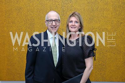 Smithsonian Sec. David Skorton and Robin Davisson. Photo by Tony Powell. Yayoi Kusama|Infinity Mirrors VIP Opening and Dinner. Hirshhorn Museum. February 22, 2017