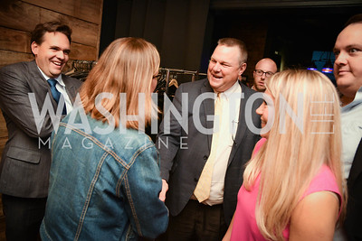 Senator Jon Tester, Yellowstone Forever Young Patrons Benefit, The Hawthorne, May 4, 2017. Photo by Ben Droz