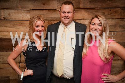 Jayne Visser, Senator Jon Tester, Jackie Rooney, Yellowstone Forever Young Patrons Benefit, The Hawthorne, May 4, 2017. Photo by Ben Droz